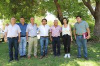 Reunión Gustavo Sáenz e intendentes
