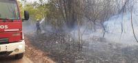 Preocupa la cantidad de incendios de pastizales en varias localidades: aún no logran sofocar uno