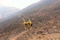 Continúan los incendios en cerros de la zona de Amblayo y hay preocupación