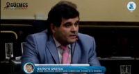 """Álgida intervención de Gustavo Orozco por la Ley de Ficha Limpia: """"Es una fantochada más de la Cámara de Diputados"""""""