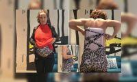 Insólito: disimuló estar embarazada para no pagar equipaje