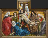 El descendimiento, de Rogier van der Weyden (Museo del Prado)