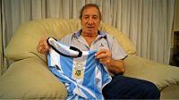 La emoción de Carlos Salvador Bilardo por el título de Argentina