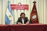 Gustavo Sáenz promulgó la Reforma Constitucional: qué significa y qué artículos cambiarán definitivamente