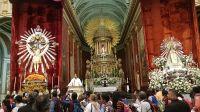 Reviví la ceremonia de entronización de las imágenes del Señor y la Virgen del Milagro