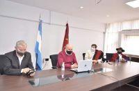 Reunión ministro de Educación y Cultura, Matías Cánepa