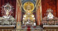 Anuncian el cronograma completo de la festividad del Señor y la Virgen del Milagro