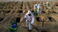 Alarma en Brasil por un nuevo aumento en la cantidad de contagios