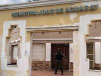|URGENTE| Gendarmería irrumpió y allanó la Municipalidad de Aguaray por el robo al Gasoducto NEA