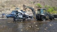 Se dieron a conocer detalles e imágenes del accidente en el que murió Jorge Brito