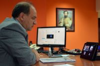 El Ministro Villada defendió la reforma de la Constitución y criticó duramente a quienes la rechazan