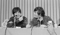 Paul McCartney y John Lennon. Fuente (Twitter)