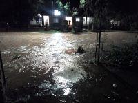 Evacuados y calles inundadas: así amaneció una localidad salteña duramente golpeada por el temporal