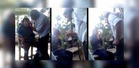 """¡Es un monstruo! Filmó a su hijo autista mientras lo torturaba y lo ataba a un silla para que """"no moleste"""""""