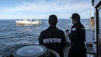 Pesqueros chinos se dirigen al Mar Argentino