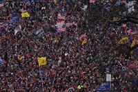 Cerraron el Capitolio por los graves incidentes protagonizados por simpatizantes de Donald Trump