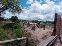 Cementerio en Cerrillos: retomaron las obras tras la polémica