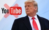 Donald Trump suspendido en YouTube