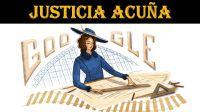 Te contamos quién es Justicia Acuña, protagonista del doodle de Google de hoy