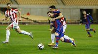 El Barcelona perdió el título y Lionel Messi vio la roja