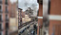 Terror y conmoción en Madrid: una fuerte explosión deja destrozado a todo un edificio