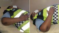 Borracho salteño quiso esquivar un control policial y embistió de lleno a una inspectora de tránsito