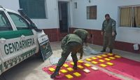 Frontera picante: intentaron ingresar a Salta con más de 25 kilos de cocaína y escaparon por el río