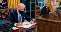 Joe Biden y Donald Trump. Fuente (Instagram)