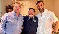 Leopoldo Luque y Diego Maradona Fuente:(Instagram)