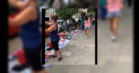 Echaron a los manteros y vendedores ambulantes de Plaza Belgrano: dónde los ubicarán ahora