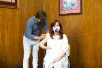 """Vacunándonos con la Sputnik"", Cristina Kirchner ya se puso la primera dosis contra el coronavirus"