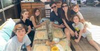 Pampita y su familia. Fuente (Instagram)