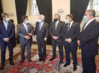 """""""Fortalecer la relación bilateral"""", el objetivo de Sáenz y Fernández durante la visita oficial a Chile"""
