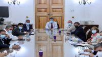 Gustavo Sáenz formó parte de un importante encuentro con el Ministro del Interior de Chile