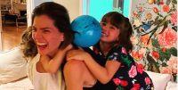 China Suárez y sus hijos. Fuente (Instagram)