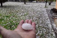 Qué zonas de Salta se vieron afectadas por la caída de granizo