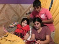 El papá de Abigail Jiménez, la nena que no pudo entrar a Santiago del Estero, se descompensó