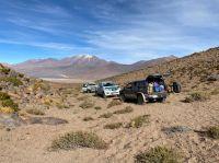 Como si fuera el Dakar, cuatro bolivianos, intentaban pasar droga por caminos sinuosos