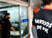 """Santiago del Estero: denuncian a Barrios de Pie por """"retener"""" planes en la puerta de un banco"""