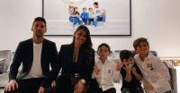 Antonela Roccuzzo reapareció junto a su esposo Leo Messi en unas postales que derritieron de amor a todos