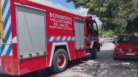 Sábado de tensión en Salta: un incendio en pleno centro asustó a todos los transeúntes