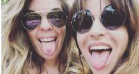 Dalma y Gianinna Maradona. Fuente (Instagram)