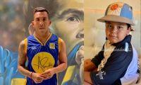 Carlos Tevez y Dieguito Fernando. Fuente (Instagram)