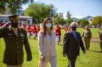 Bettina Romero participó del acto por un nuevo aniversario de la llegada de Belgrano a la Casa Histórica de Castañares