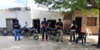Tres detenidos tras allanamientos en el norte provincial
