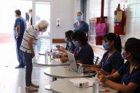 Lucha contra el COVID 19: en el Hospital Papa Francisco ya se vacuna a mayores de 70 años