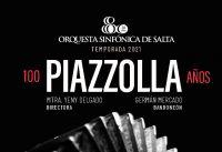 """Concierto Sinfónica de Salta: """"Obras de Piazzolla"""""""