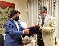 Bicentenario del fallecimiento de Güemes: Gustavo Sáenz se reunió con el Ministro de Cultura de la Nación