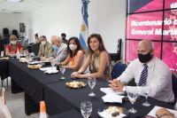Bettina Romero mantuvo una importante reunión con los concejales capitalinos