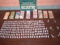 Tartagal: usaron el techo de su casa para esconder un arsenal de droga y dinero